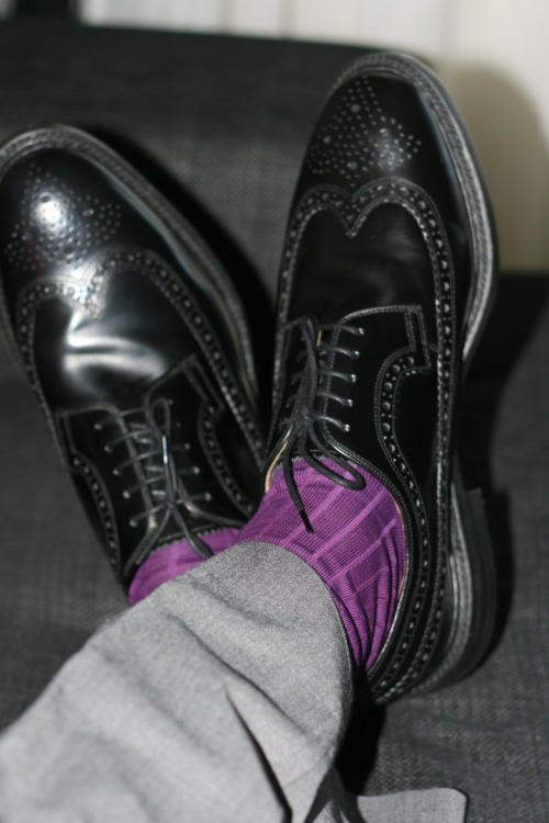 syncro89:  Loake shoes + Viccel socks
