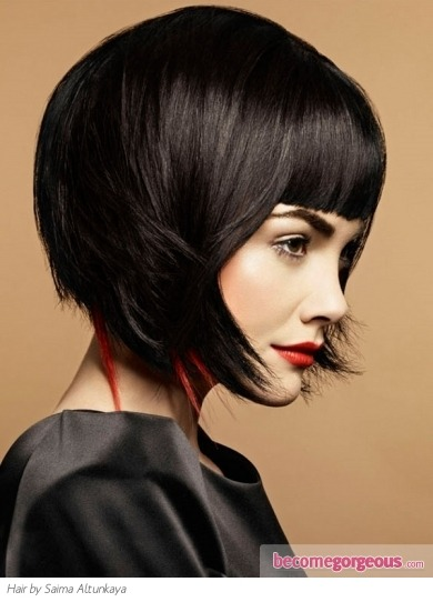 (via Fabulous Medium Bob Haircut - Medium Long Hairstyles Pictures)