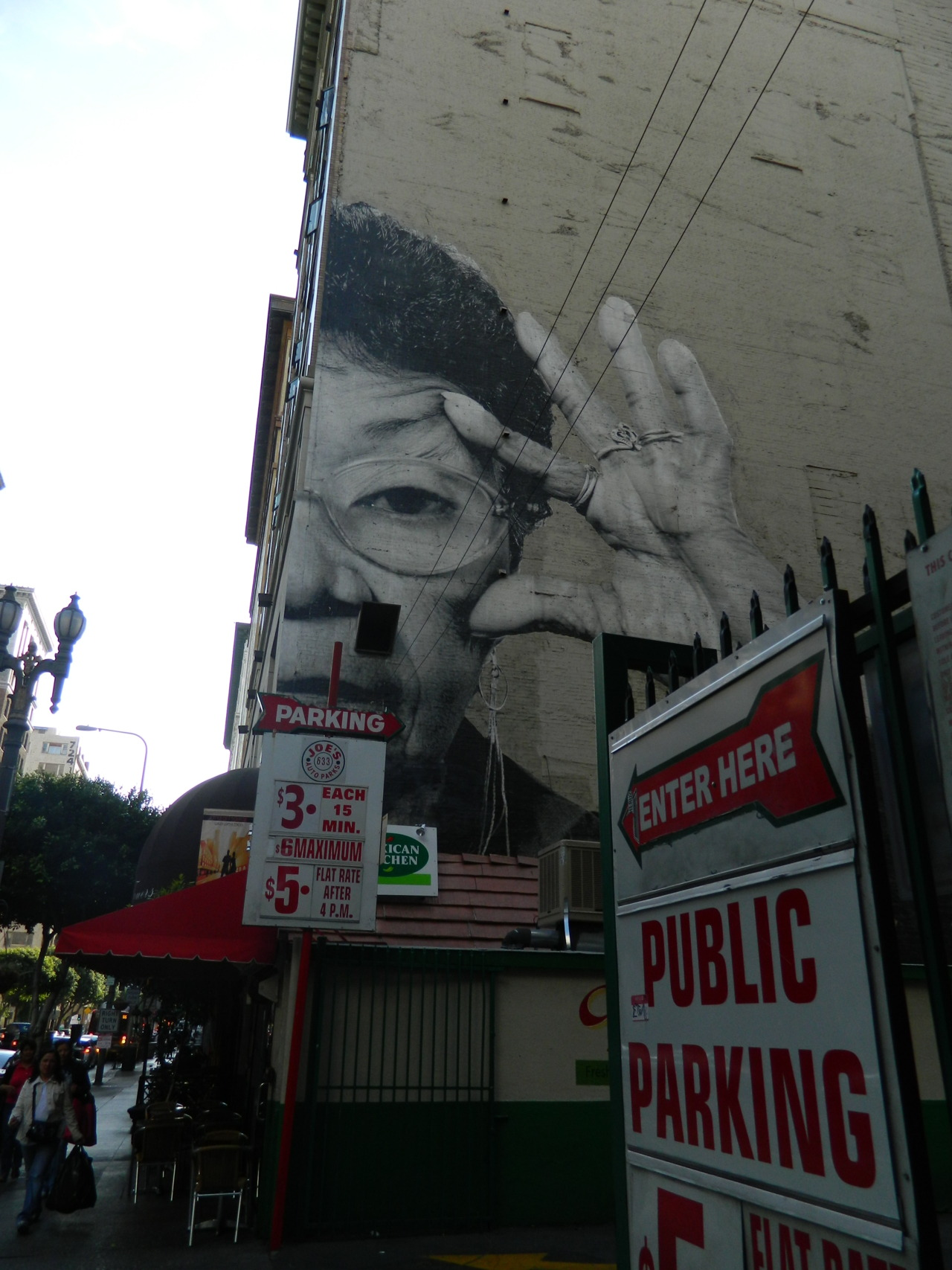 Downtown Los Angeles. This piece was on the opposing side of the one I posted earlier.