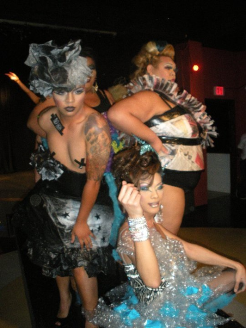 2010 GALA FierceFashionFriday fashion show.