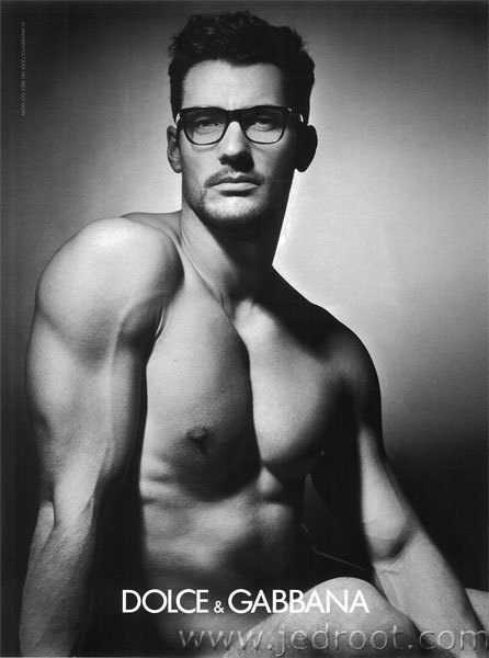 David Gandy for Dolce & Gabbana Eyewear by Mariano Vivanco