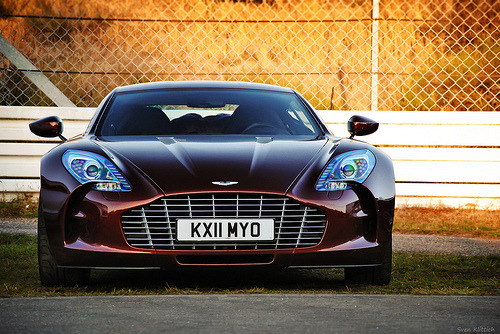 carpr0n:  Beauty of the sunset Starring: Aston Martin One-77 (by SvenK | Carspottography)