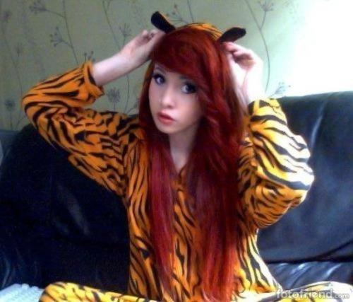 My tiger suit :3