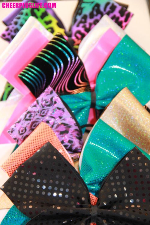 cheerpluslife:  FIERCE bows from All Star Bows!