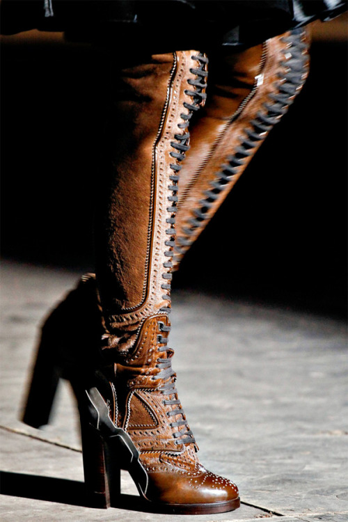 Givenchy. Cyber Brogue Boots for fighting off-planet in style.