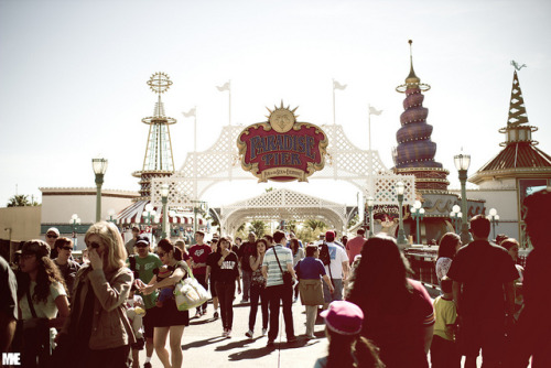 Paradise Pier. by mkealcoran on Flickr.