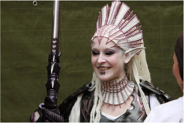 "Aniesha Fey, NPC character played on ""Conquest of Mythodea"", the biggest LARP Event in the world."