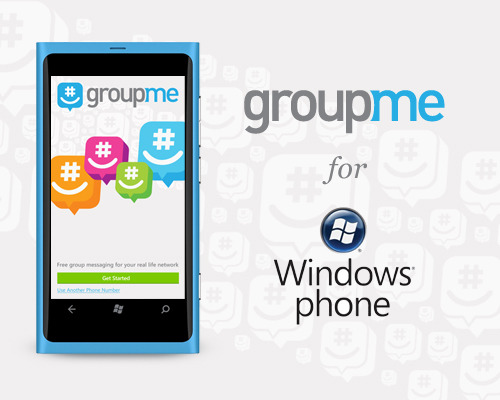 GroupMe for Windows Phone It's back and better than ever! Today, we're thrilled to announce a completely revamped version of our GroupMe app for Windows Phone. We've been working closely with our new parent company, Microsoft, on developing this app, and we think the result is the best way to chat with everyone you know from your Windows Phone.    The GroupMe experience you know and love has been translated to the functionality and design of the Mango OS and Metro design framework, so the app will feel native to seasoned Windows Phone users. Start groups, send direct messages, share photos, and check out featured groups just like on our other smartphone apps—it's all here.    But that's not all! There are some great new features that take advantage of the new Mango OS. GroupMe has fast app switching enabled, live tile notifications of new messages, and syncs with the Windows Phone address book. Plus, you can pin a specific group to start, giving you fast access to the groups you access most often—and the tile updates with new messages and photos.    We think you'll love this new app, and can't wait for you to try it! It's available for free in the Windows Marketplace, so download it now and let us know what you think!