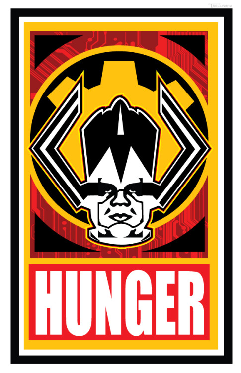 xombiedirge:  Galactus Hunger by Tom Kelly / Website