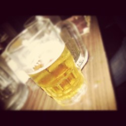 Im thinkin of you #beer #drink #cold #taste #chill #instagram (Taken with instagram)