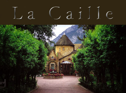 This. can't. possibly. be. true.       La Caille Restaurant