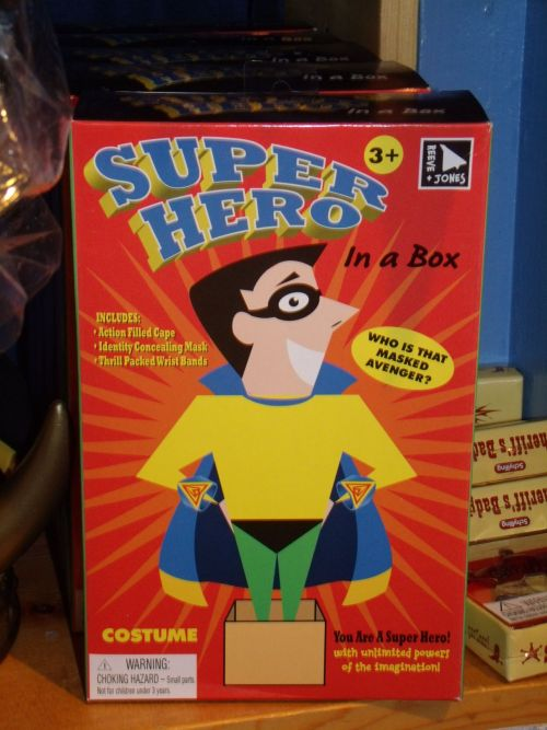 Who knew superpowers could fit in a box???  This fun kit along with many other fun toys that foster creativity are available at Little Richard's Toy Store in downtown Colorado Springs.