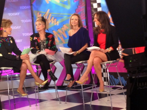 Shopafrolic on the Today Show with Hoda Kotb, Kathie Lee Giffird, Jane Wagman and Liz Lange!