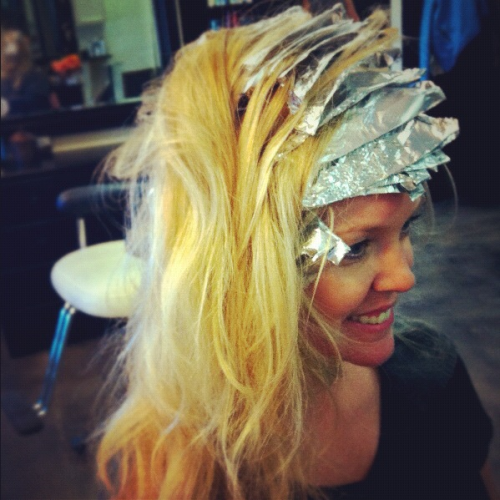 Seriously waiting for the day Lady Gaga performs on stage wearing foils! I think it could be a really hot look!