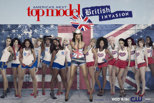 5 days until America's Next Top Model: British Invasion begins and I am counting down the minutes.
