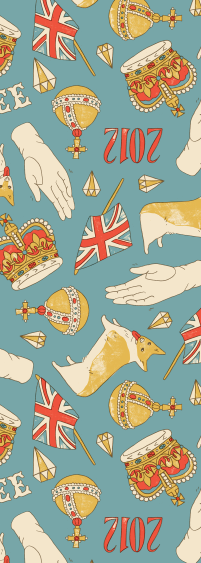 a sneak peek at a Diamond Jubilee piece i am working on…