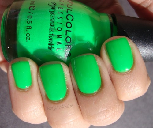 Sinful Colors- Irish Green.