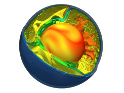 smarterplanet:   Model Realistically Simulates Plate TectonicsETH Zurich scientists have for the first time succeeded in realistically simulating how an oceanic plate sinks of its own accord under an adjacent plate. At the same time they showed why only one of the plates rather than both subducts into the Earth's mantle, and how this process affects the dynamics of the Earth's interior. Read more: http://www.laboratoryequipment.com/news-Model-Realistically-Simulates-Plate-Tectonics-022412.aspx  via laboratoryequipment: