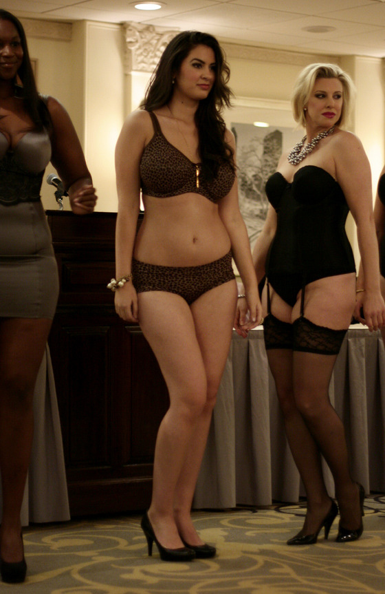 bflycollection:  curveappeal:  (via Launch of BarePlus by BareNecessities)  Fab Lingerie and Heels! xx