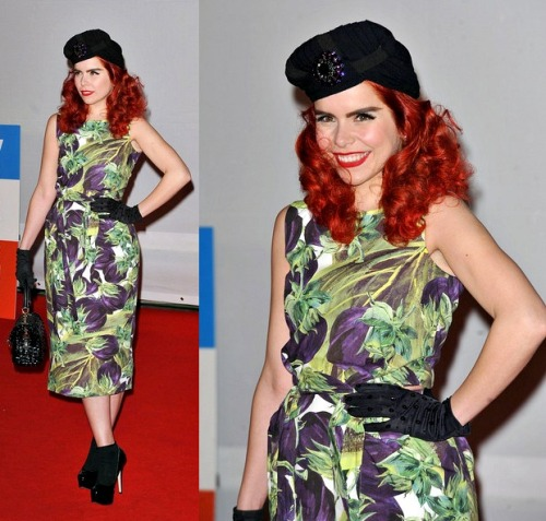 Paloma Faith in Dolce & Gabbana Spring 2012