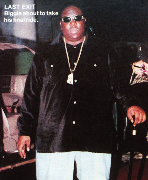 Last photo of Biggie - March 9th 1997