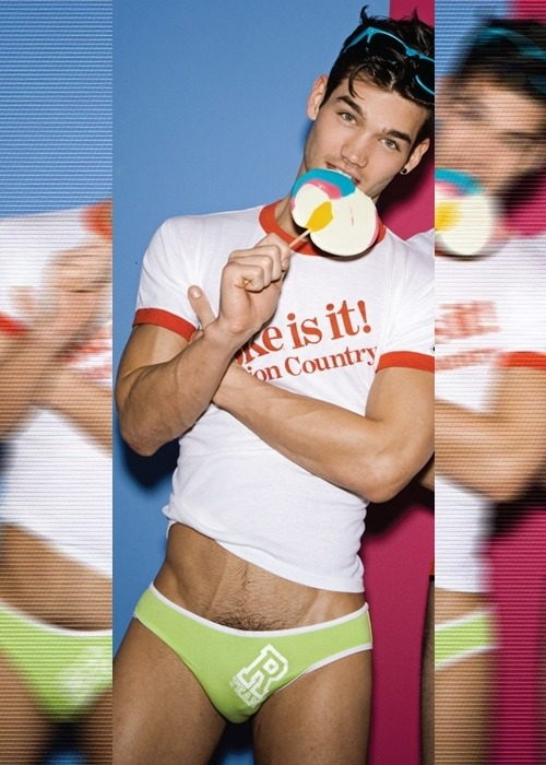 fuckyeahchrisfawcett:  Chris Fawcett by Rick Day for Coitus. Buy here.
