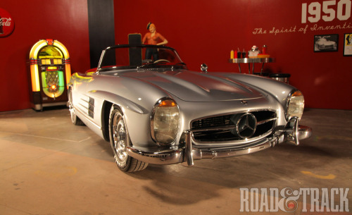 "It's now been more than 60 years that Mercedes-Benz SL sports cars have been featured in Hollywood movies. Here's one: 1957-1963 Mercedes-Benz 300SL it appeared in ""Pillow Talk"" with Doris Day, ""It started with a Kiss"" with Glenn Ford, ""Cinderfella"" with Jerry Lewis, ""The Lost World"" with Michael Rennie and ""High Time"" starring Bing Crosby. (Source: Road & Track)"