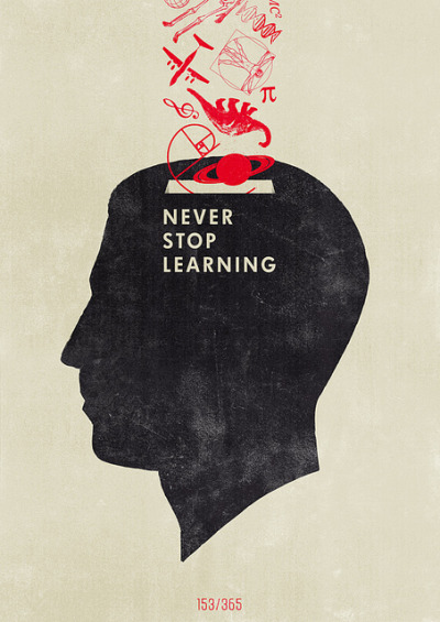"""Never Stop Learning"" by Hannes Beer"