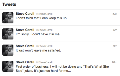 collegehumor:  Steve Carell addresses the question on everyone's mind.