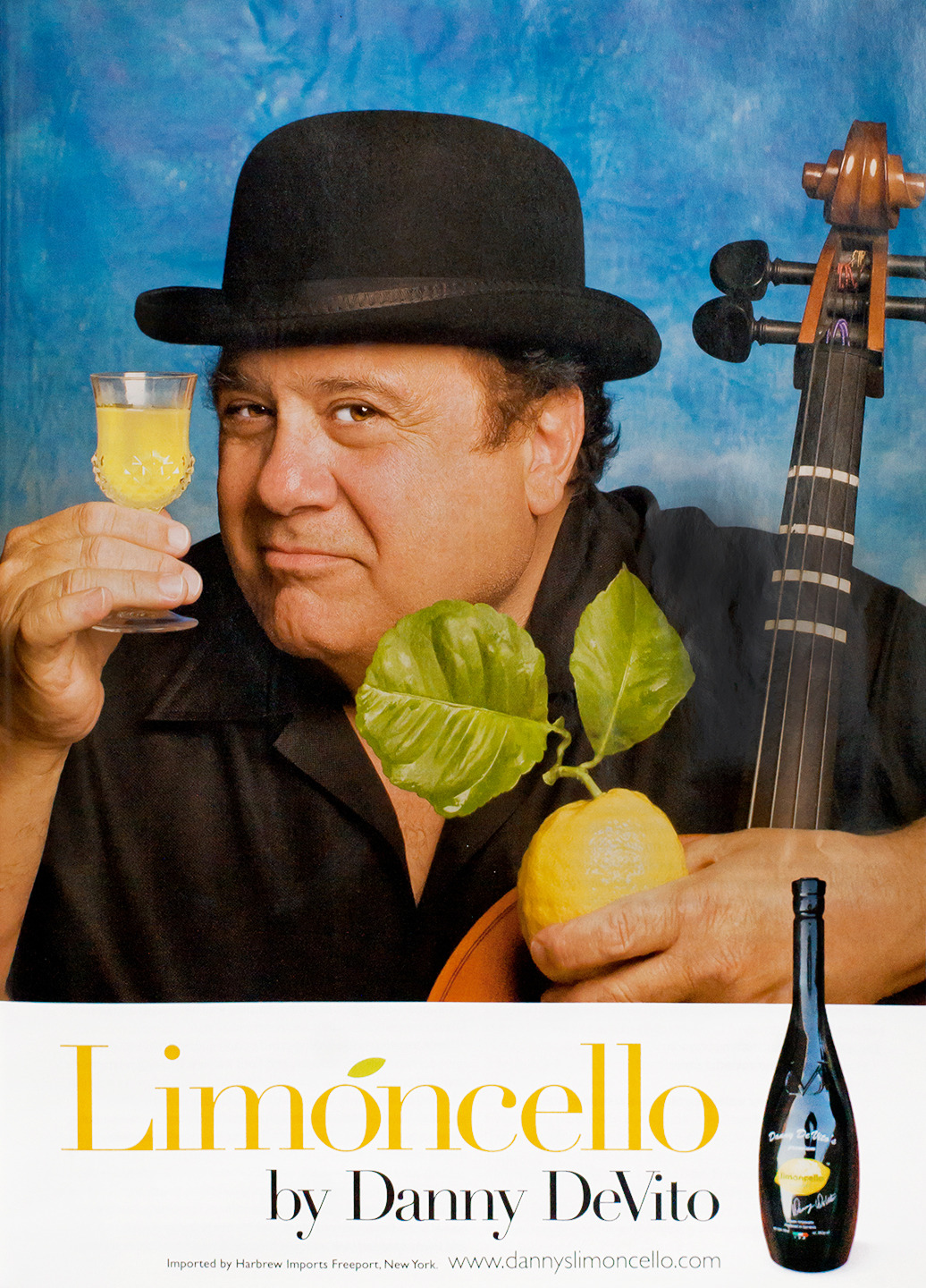 Limoncello Advertisement - Gourmet: February 2009