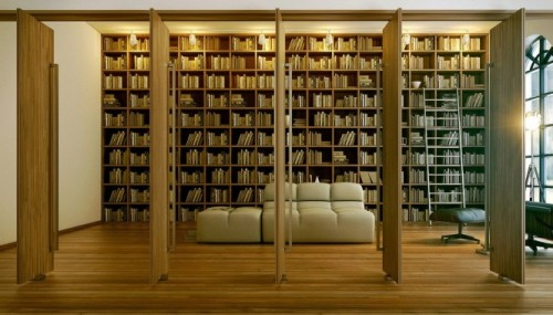 homedesigning:  Bookshelf Inspiration  oh my do I ever heart this…