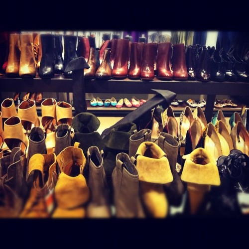 Zara's boots on sale. 😍 (Taken with instagram)