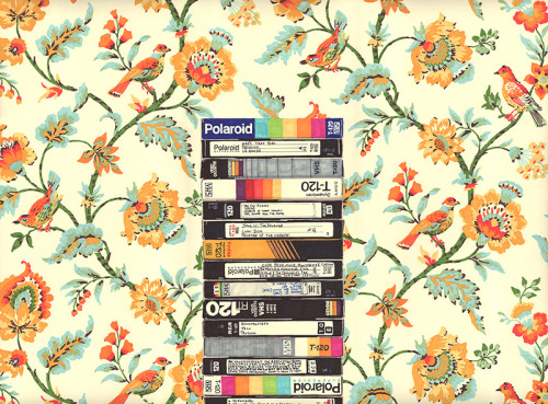 VHS (Entry Hall Wallpaper)permanent marker on paper 22 1/2 x 30 inches hbt12-p0072012