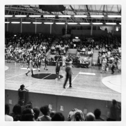 Solna Vikings - Sundsvall, two Swedish top teams. Good game even though Vikings lost. Proud of em all! Big up all players and of course big up to my very own AQceS dancerz. We did the most out of it! We were really bringing the hype and energy!!