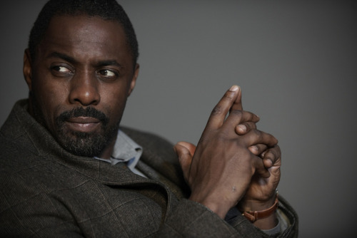 "good omens casting: idris elba as crawley  ""An Angel who did not so much Fall as Saunter Vaguely Downwards."""