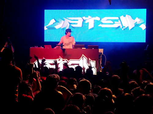 Datsik on Flickr.Datsik opening for Steve Aoki at Starland Ballroom.