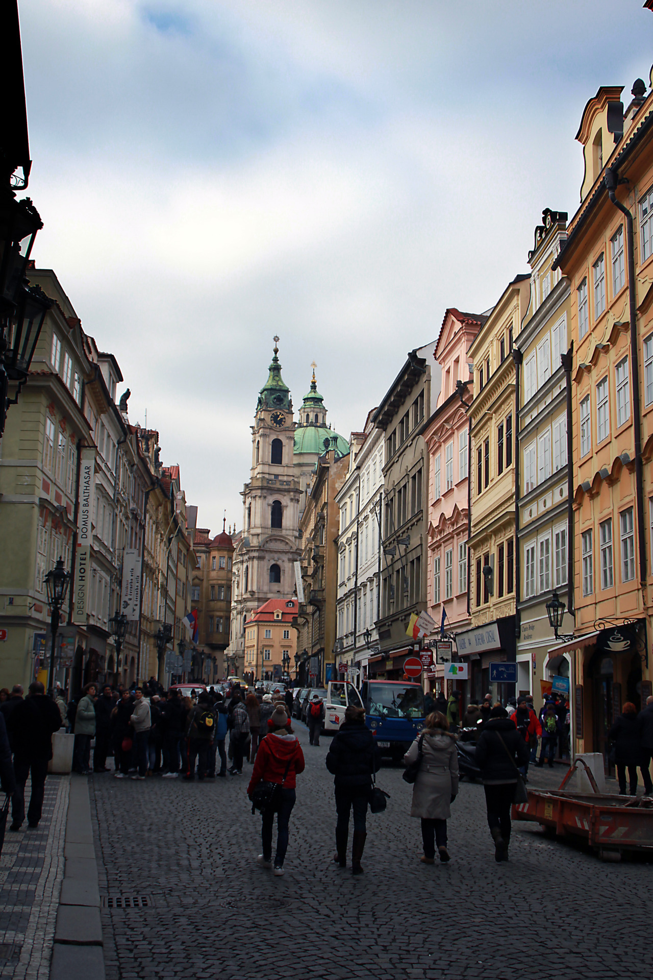 | ♕ |  Street of Mosteká, Old Town Prague  | by/via © xorunaways