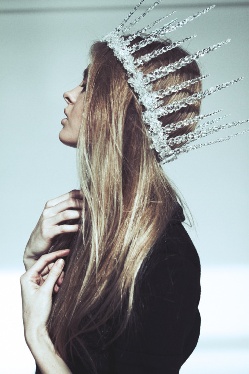 fashion style crown jeweled crystal