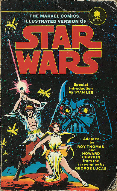 Special Introduction by STAN LEE Marvel Comics Star Wars graphic novel circa 1979 :: via martinisaac