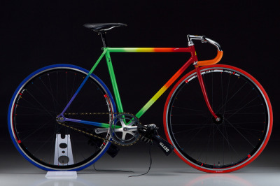 Kiyo Miyazawa 2012 on Flickr.Hot Rainbow nipples on my Kiyo NJS Frame.