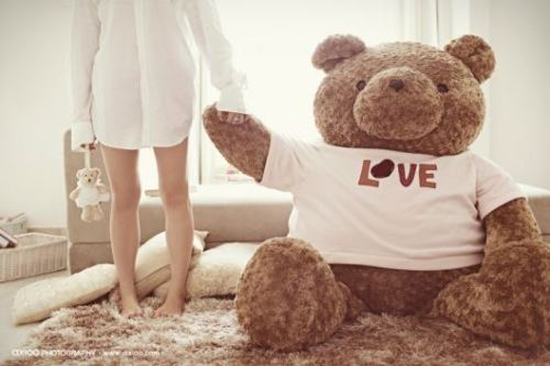 i love my teddy <3