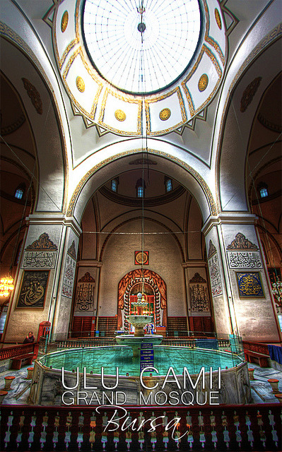 [HDR] Ulu Camii, Bursa on Flickr.