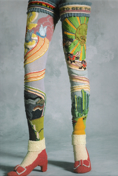 ritajardon:  susanna lewis oz socks – circa 1978 {via knithacker}  knitspiration