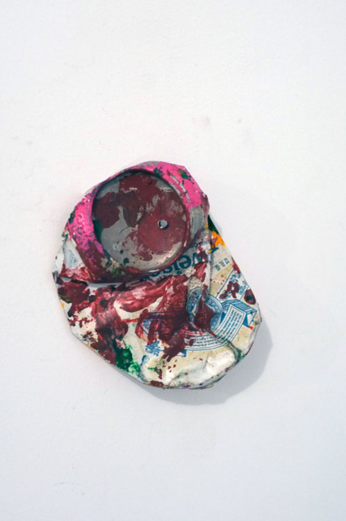 shopkarma:  DAN COLEN, BLOWIN' IN THE WIND OPENING RECEPTION THURSDAY MARCH 1ST, 2012. 6-8PM — Basketball, Mop, Budweiser can, Shard, Cup, Foam, Tire, Netting, Tube, Wood, Umbrella, Plant stand, Towel, Sneaker, Frisbee, Poland Spring bottle, Pallet, Sock, Plastic ring, Broom, Sheet, Boot, Curve, Block, Car mat, Bike seat, Basketball, Hose, Metal Wire, Plastic mesh bag, Wood panel, Mask, Robe