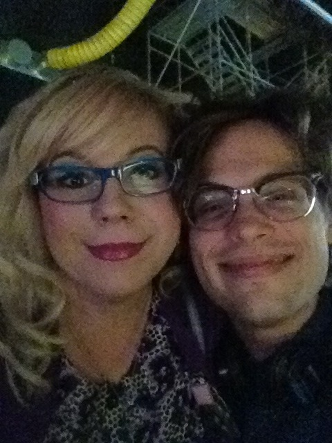 spencerreidramblings:  criminalmindsfeed:  @Vangsness: Last day of the @GUBLERNATION episode. Wonderful weirdo. I understand why you want to marry him & bear his fox cubs.  Oh god she's seen us.