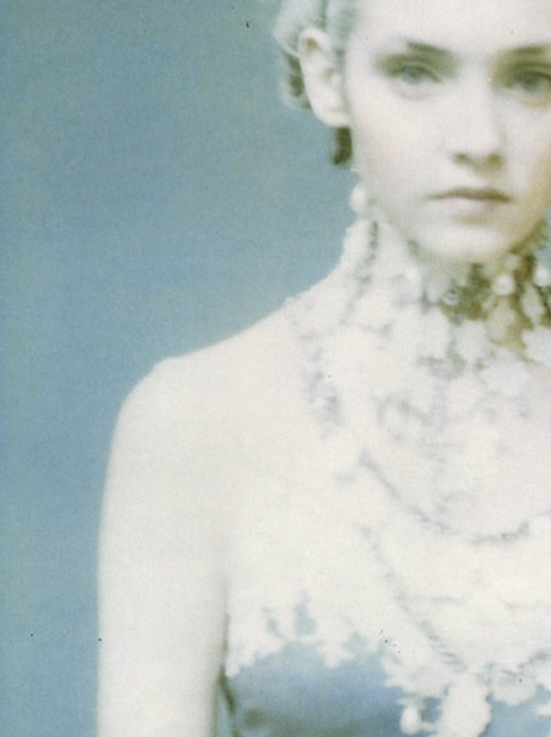 lavandula:  shot by paolo roversi for vogue italia