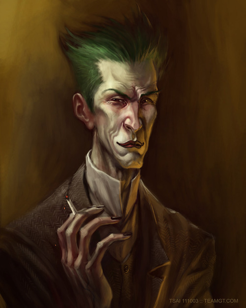 Joker by Francis Tsai Artist: website / deviantart