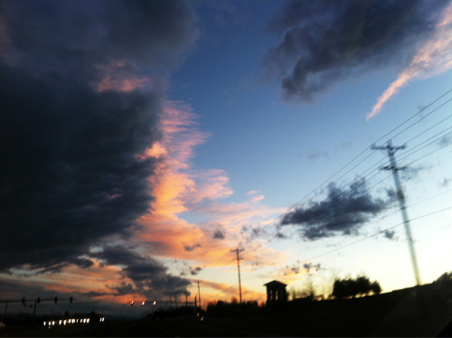 project365 Road trip: Tonight's Sky (113/365)