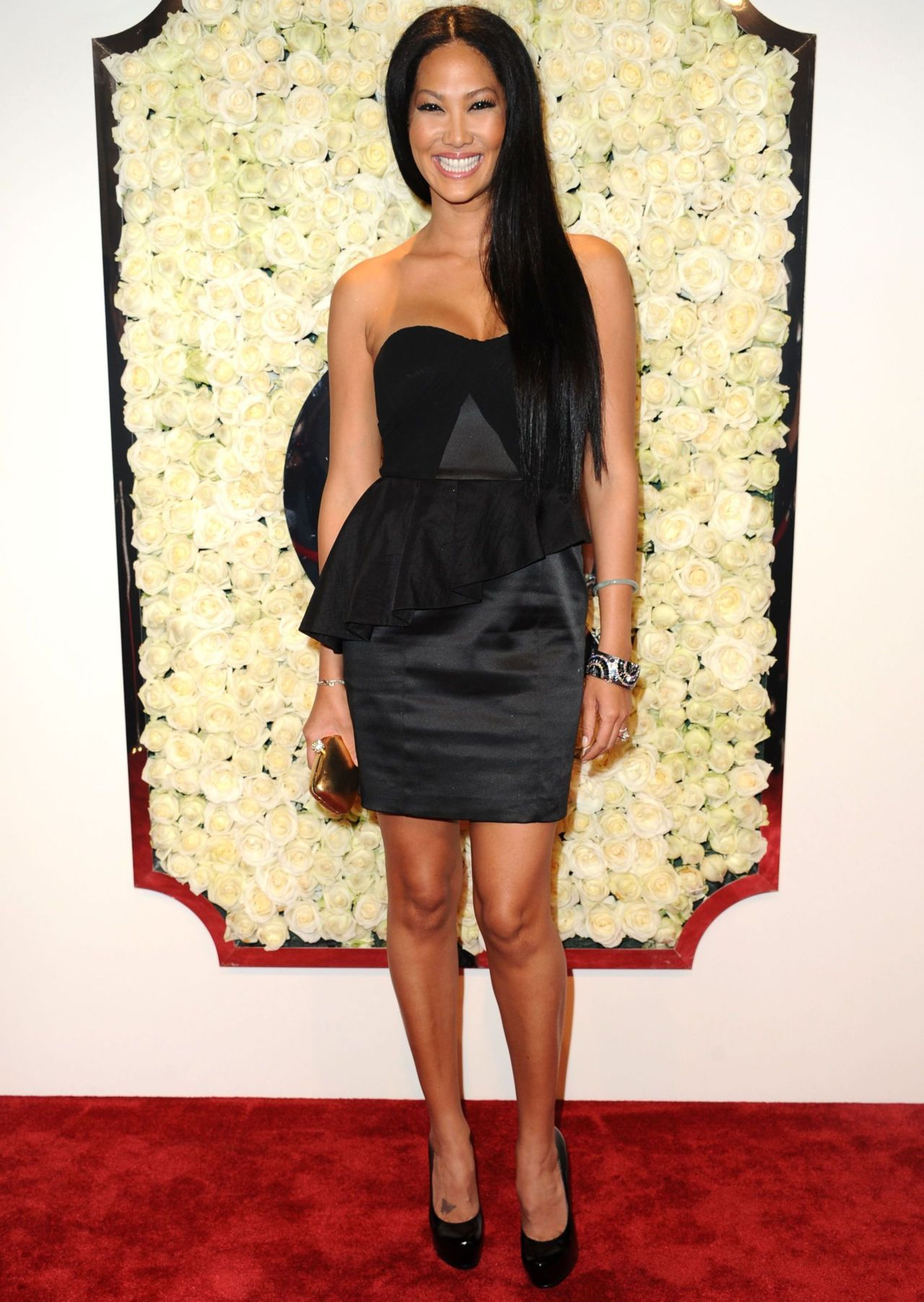 modelsofcolor:  Kimora at the QVC Red Carpet Style Event on Feb. 23 2012