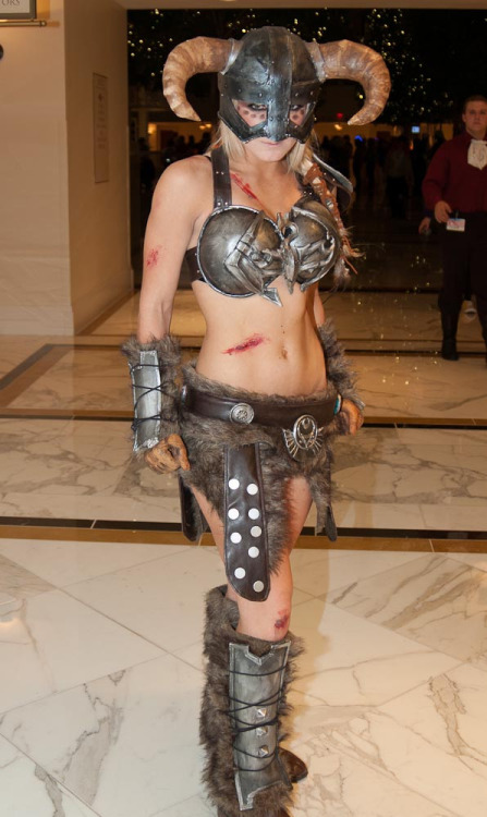 Skyrim Crossplay by Jessica Nigri Photographed by GeekAine Shot at Katsucon